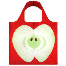 LOQI Shopping Bag Apple