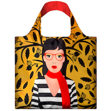 LOQI Shopping Bag Snake Lady
