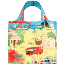 LOQI Shopping Bag San Francisco