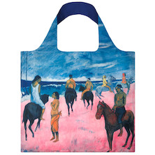 LOQI Shopping Bag Horsemen on the Beach - Gauguin