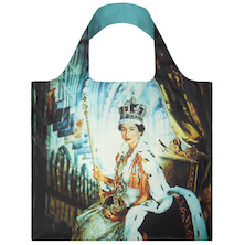 LOQI Shopping Bag Queen Elizabeth II - Beaton