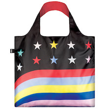 LOQI Shopping Bag Stars and Stripes
