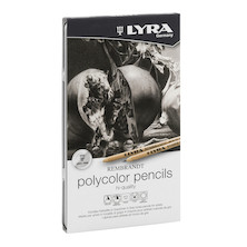Lyra Rembrandt Polycolour Pencil Grey Set of 12