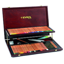 Lyra Rembrandt Polycolour Pencil Wooden Box Set