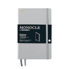 Monocle by Leuchtturm1917 Hardcover Notebook B6+ Light Grey
