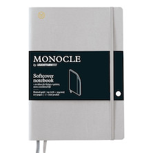 Monocle by Leuchtturm1917 Softcover Notebook B5 Light Grey