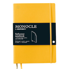 Monocle by Leuchtturm1917 Softcover Notebook B5 Yellow