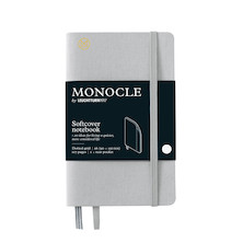Monocle by Leuchtturm1917 Softcover Notebook A6 Light Grey