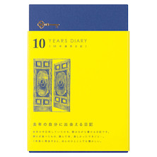 Midori Journal 10 Years Gate Navy