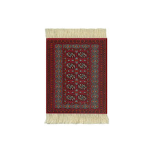 CoasterRug Set of 4 Turkoman Bokhara