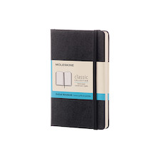 Moleskine Classic Collection Pocket Notebook 90x140 Black