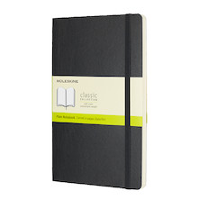 Moleskine Soft Cover Large Notebook 135x210 Black