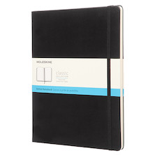 Moleskine Classic Collection Extra Large Notebook 190x250 Black