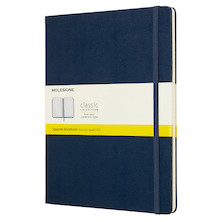 Moleskine Classic Collection Extra Large Notebook 190x250 Sapphire Blue