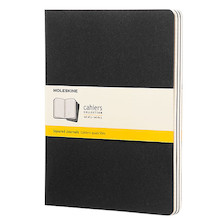 Moleskine Cahier Extra Large Journal 190x250 Black