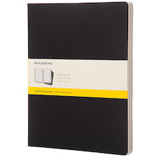 Moleskine Cahier Extra Extra Large Journal 216x279 Black
