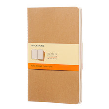 Moleskine Cahier Large Journal 135x210 Kraft