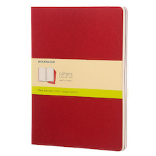 Moleskine Cahier Extra Large Journal 190x250 Cranberry Red