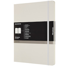 Moleskine Pro Notebook Hard Cover Extra Extra Large 216x279 Pearl Grey