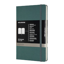 Moleskine Pro Notebook Hard Cover Large 135x210 Forest Green