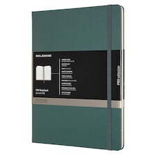 Moleskine Pro Notebook Hard Cover Extra Large 190x250 Forest Green