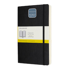 Moleskine Classic Collection Expanded Softcover Large Notebook Black
