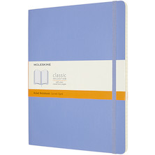 Moleskine Classic Collection Softcover Extra Large Notebook Hydrangea Blue