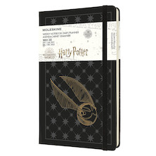 Moleskine Harry Potter Large Weekly 18 Month Diary 2021-2022 Limited Edition Black