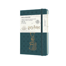 Moleskine Harry Potter Pocket Weekly 18 Month Diary 2021-2022 Limited Edition Tide Green