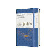 Moleskine Harry Potter Pocket Daily Diary 2022 Limited Edition Antwerp Blue