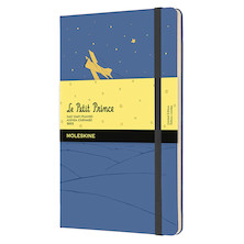 Moleskine Petit Prince Large Daily Diary 2022 Limited Edition Forget Me Not Blue