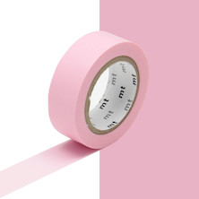 mt Washi Masking Tape - 15mm x 10m - Rose Pink