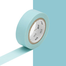 mt Washi Masking Tape - 15mm x 10m - Baby Blue