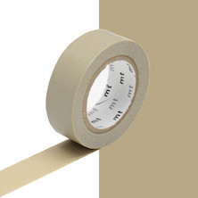 mt Washi Masking Tape - 15mm x 10m - Beige