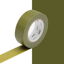 mt Washi Masking Tape - 15mm x 10m - Uguisu