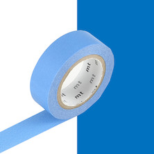 mt Washi Masking Tape - 15mm x 10m - Blue
