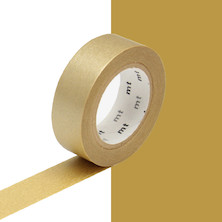 mt Washi Masking Tape - 15mm x 10m - Gold