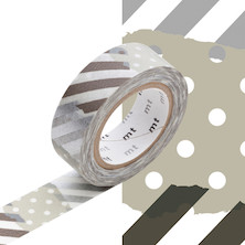 mt Washi Masking Tape - 15mm x 10m - Tsugihagi G