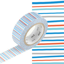 mt Washi Masking Tape - 15mm x 10m - Shima Ao
