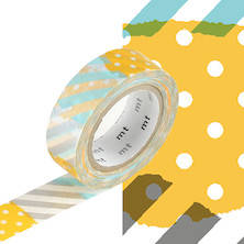 mt Washi Masking Tape - 15mm x 10m - Tsugihagi H