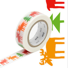 mt Washi Masking Tape by Bengt and Lotta - 15mm x 10m - Happy Moose