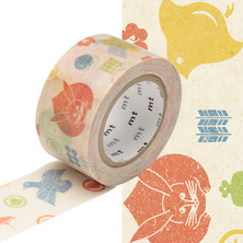 mt Washi Masking Tape EX - 25mm x 10m - Kamon