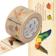 mt Washi Masking Tape EX - 30mm x 10m - Encyclopedia / Bird