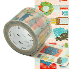 mt Christmas Washi Masking Tape - 30mm x 7m - Room of Christmas