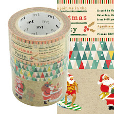 mt Christmas Washi Tape Set