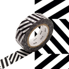 mt Washi Masking Tape 15mm x 10m Seesaw