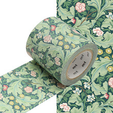 mt Washi Masking Tape - 50mm x 10m - William Morris Leicester