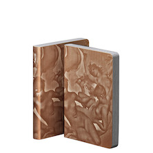 nuuna Graphic S Smooth Bonded Leather Cover Notebook Paradise