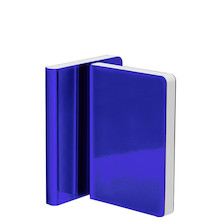 Nuuna Shiny Starlet S High Gloss Metallic Cover Notebook Blue