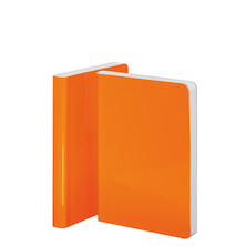 Nuuna Candy S High Gloss Cover Notebook Neon Orange